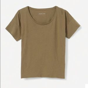 Everlane The Square Tee- Olive